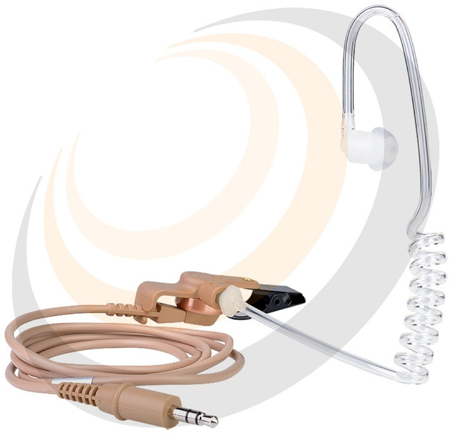 CC-010A Presenter Earpiece - With Discrete Tube - Image 1