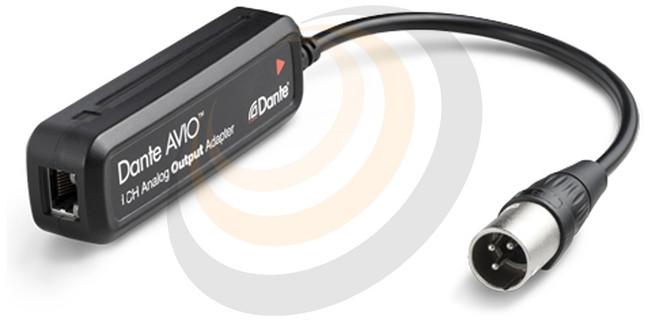 Audinate Dante AVIO Analog Output Adapter 0x1 - Image 1