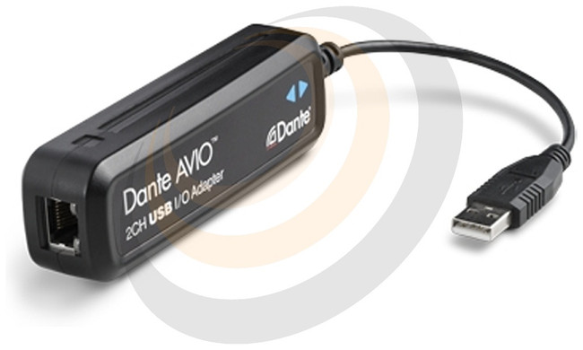 Audinate Dante AVIO USB IO Adapter 2x2 - Image 1
