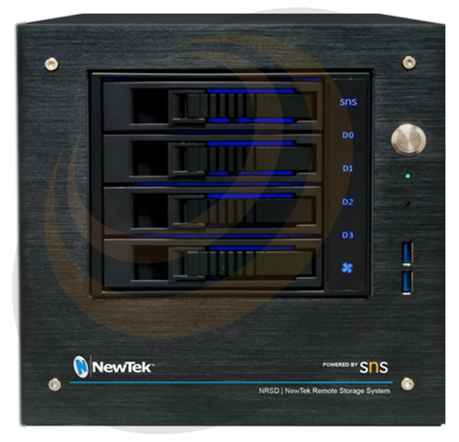 NewTek NRSD | NewTek Remote Storage Powered by SNS 4-bay Desktop - Image 1