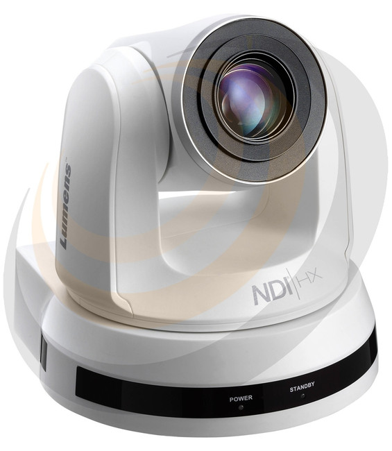 VC-A50PNW 20x Optical Zoom NDI/IP/3GSDI/HDMI PTZ Camera - White - Image 1