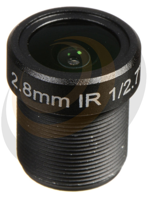 2.8mm F2.0 MP HD Prime Lens - approx. Horizontal AOV = 88º - Image 1