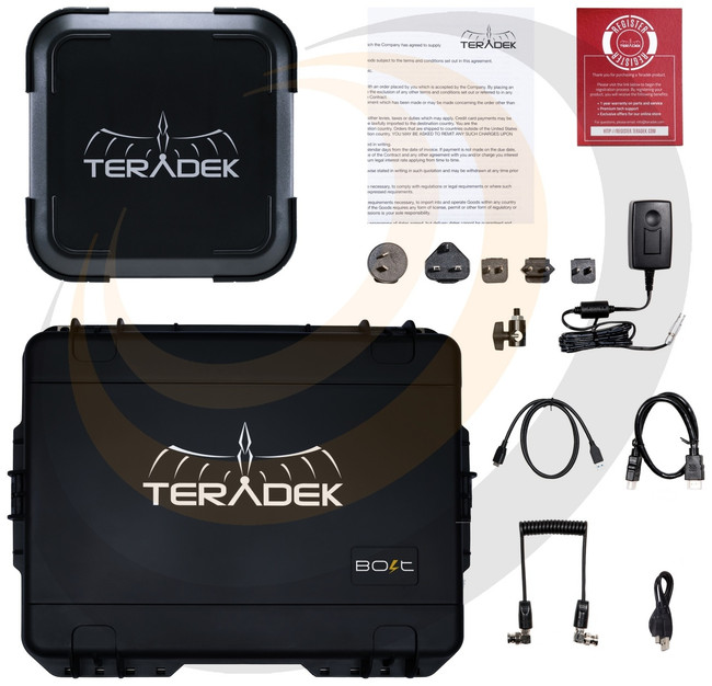 Teradek Bolt 10K Receiver - Bolt 10K HD-SDI/HDMI Wireless RX / V-Mount - Image 1