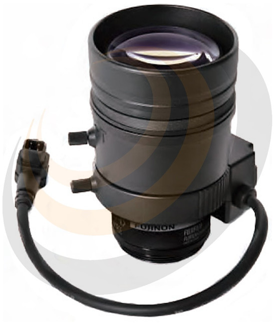 15~50mmFujinonVarifocal F1.5 CS Mount with Auto-Iris & ND Filter - approx. 20°~ 5° Hor. AOV - Image 1