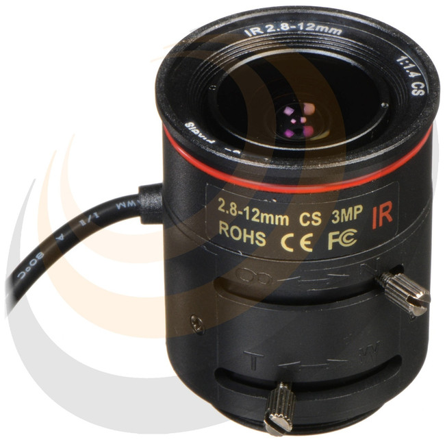 2.8~12mm F1.4 Varifocal CS 3MP lens - Image 1