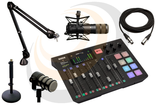 Podcast Pack - Featuring the RØDECaster Pro podcast studio - Image 1