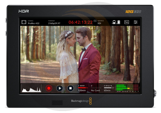 "Blackmagic Video Assist 7"" 12G HDR - Image 1"
