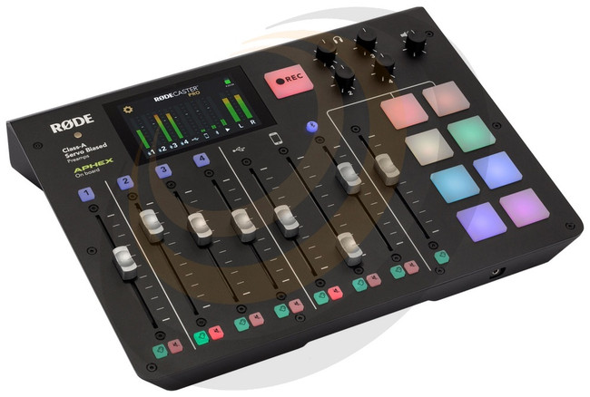 RØDE RØDECaster Pro - Integrated Podcast Production Console - Image 1