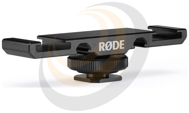 RØDE DCS1 Dual Cold Shoe Mount for Wireless GO - Image 1
