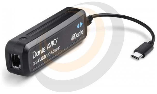 Audinate Dante AVIO USBC IO Adapter 2x2 - Image 1