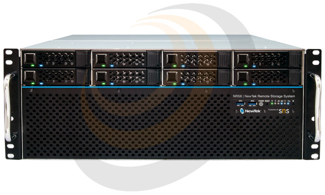 NewTek NRS8 | NewTek Remote Storage Powered by SNS 8-bay w/NRS-2X10G - Image 1