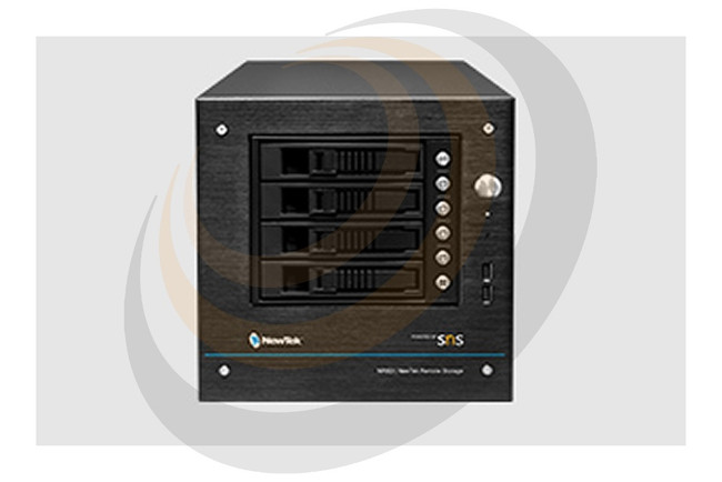 NewTek NRSD | NewTek Remote Storage Powered by SNS 4-bay Desktop Empty Chassis - Image 1