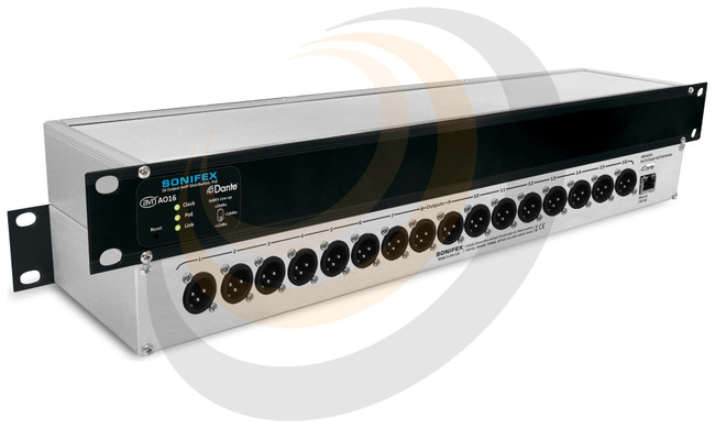 Sonifex 16 Output Dante® Interface, PoE - Image 1