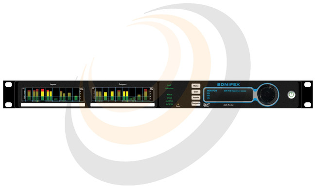 Sonifex 8 Stereo Digital Line Inputs & Outputs, Terminal Block, AES67 Display Portal - Image 1