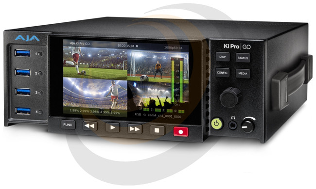 AJA Multi-Channel HD H.264 USB 3.0 Recorder and Player - Image 1