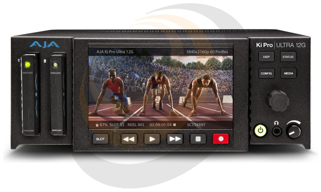 AJA 4K Recorder/Player with 12G-SDI and Multi-Channel encoding Support  - Image 1