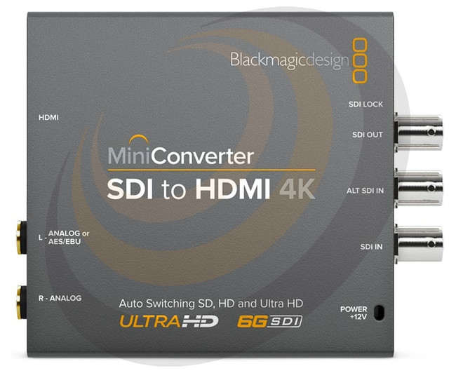 Mini Converter - Audio to SDI 4K  - Image 1