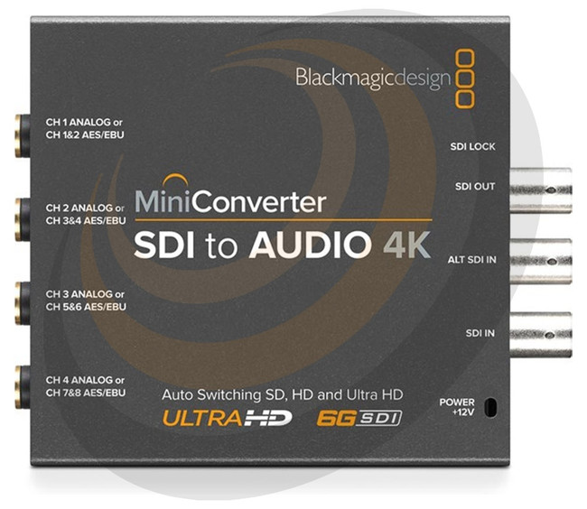 Mini Converter - SDI to Audio 4K  - Image 1
