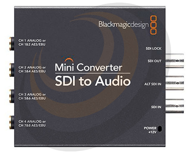 Blackmagic Mini Converter - SDI to Audio  - Image 1