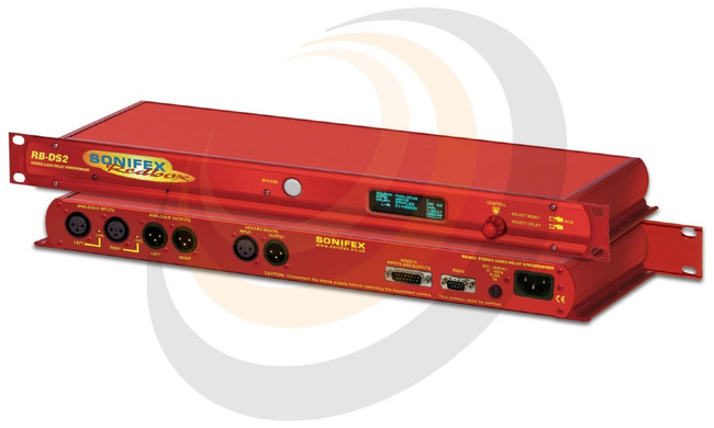 Sonifex Stereo Delay Synchroniser & Time-Zone Delay (1U) - Image 1