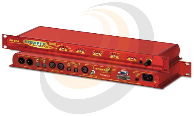 4 Channel Digital Audio Delay Synchroniser (1U) - Image 1