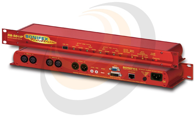 Sonifex Silence Detection Unit With Ethernet & USB (1U) - Image 1
