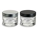 Heavy Base Glass Jars