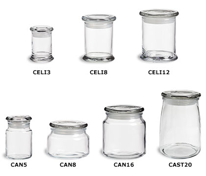 Candle Jars with Lids