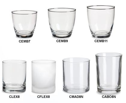 Candle Jars Wholesale Votives Specialty Bottle