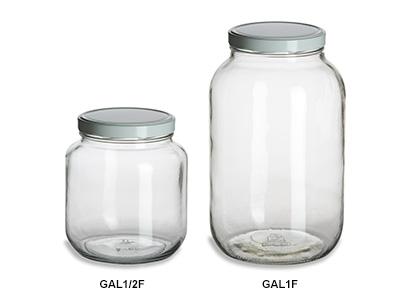 Gallon & Half Gallon Wide Mouth Jars