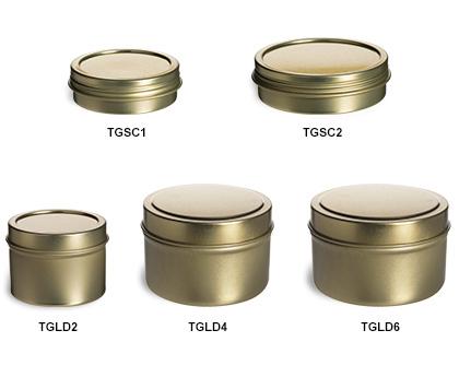 Gold Tins