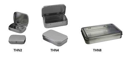 Hinged Tin Containers