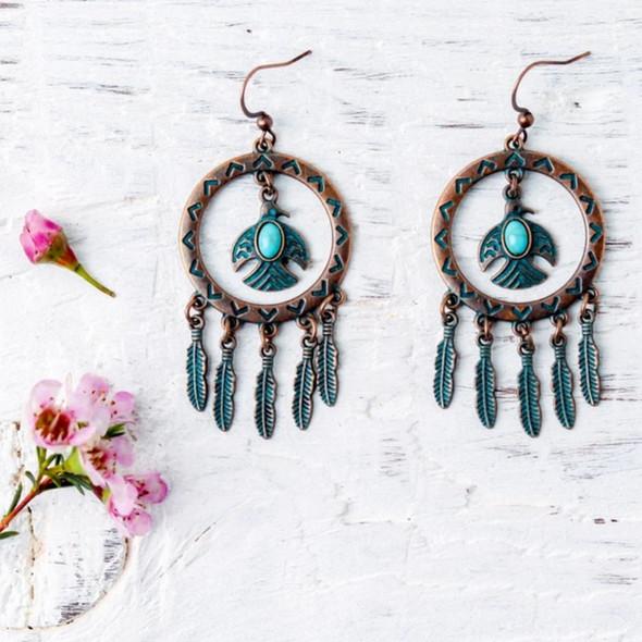 Nicole Blue Earrings