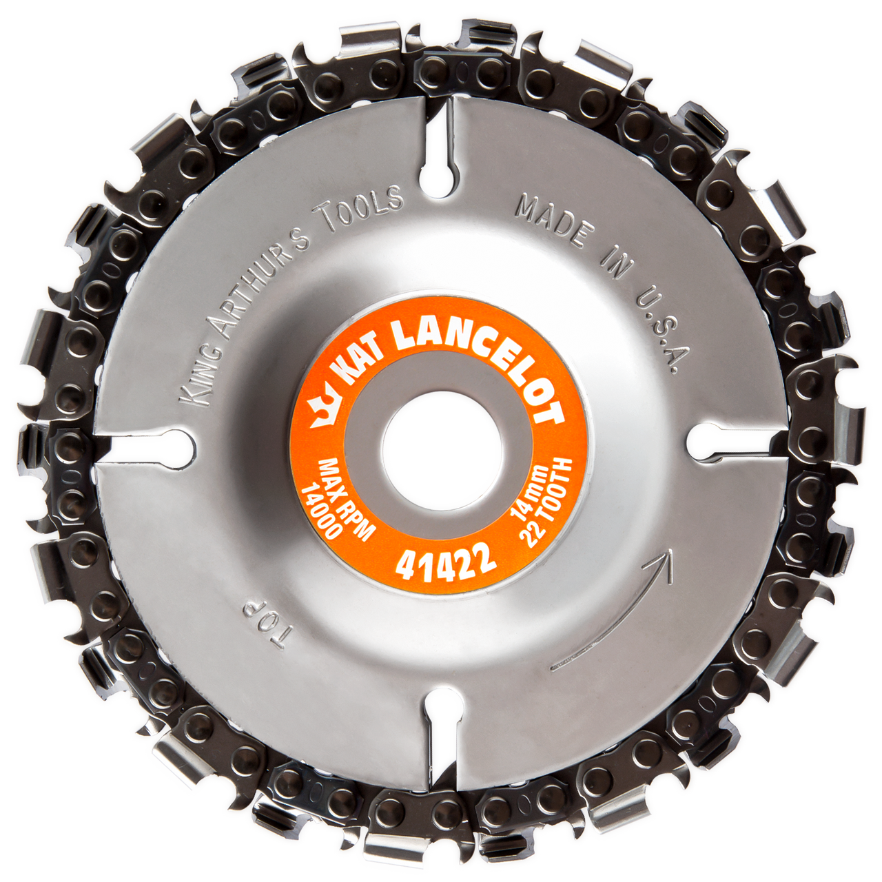Lancelot 14mm 22 Tooth Chainsaw Disc