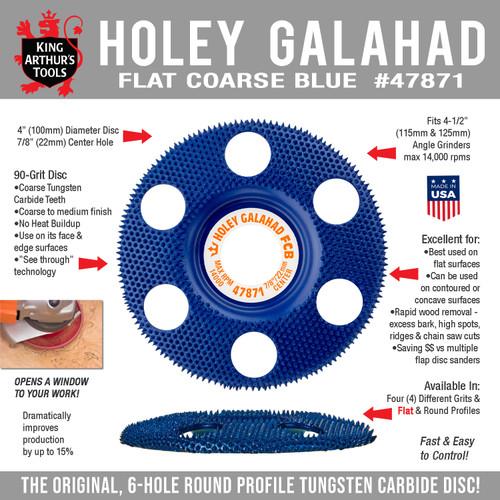 47871 HOLEY GALAHAD - FLAT COARSE BLUE