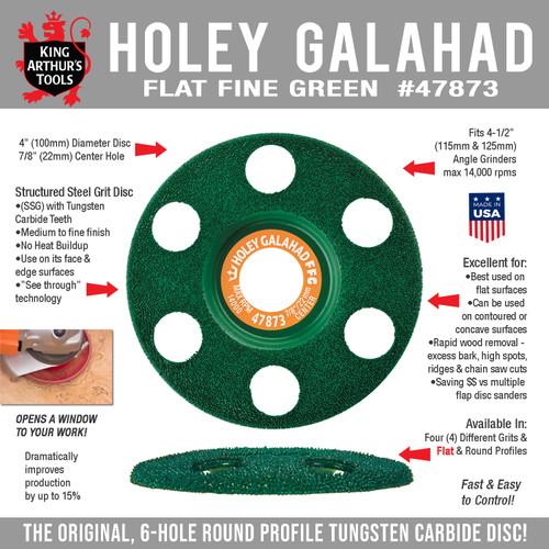 47873 HOLEY GALAHAD - FLAT FINE GREEN