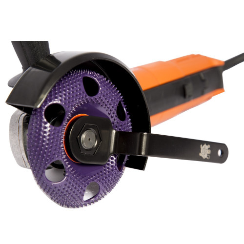 47854FN FEIN GRINDER WITH ROUND EXTREME COARSE HOLEY GALAHAD