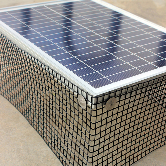 "Image result for solar panel 1/2"" mesh 6""x100' roll"