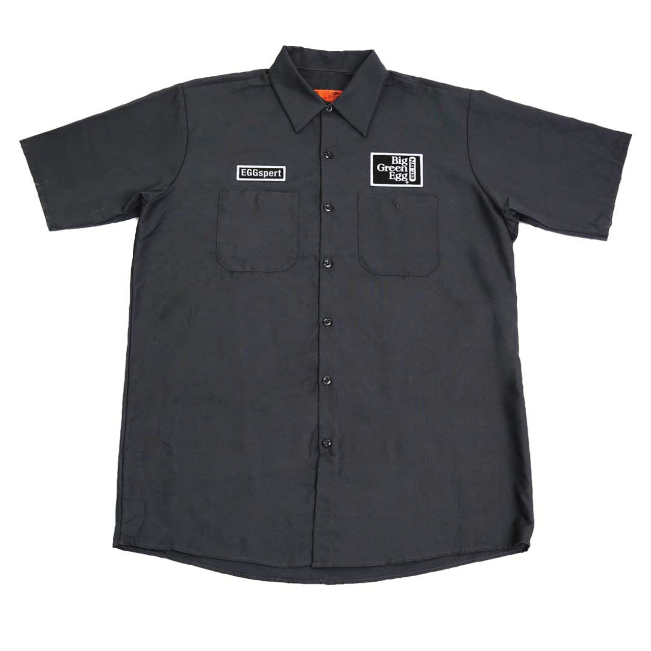 """EGGspert"" Mechanic-Style Shirt"