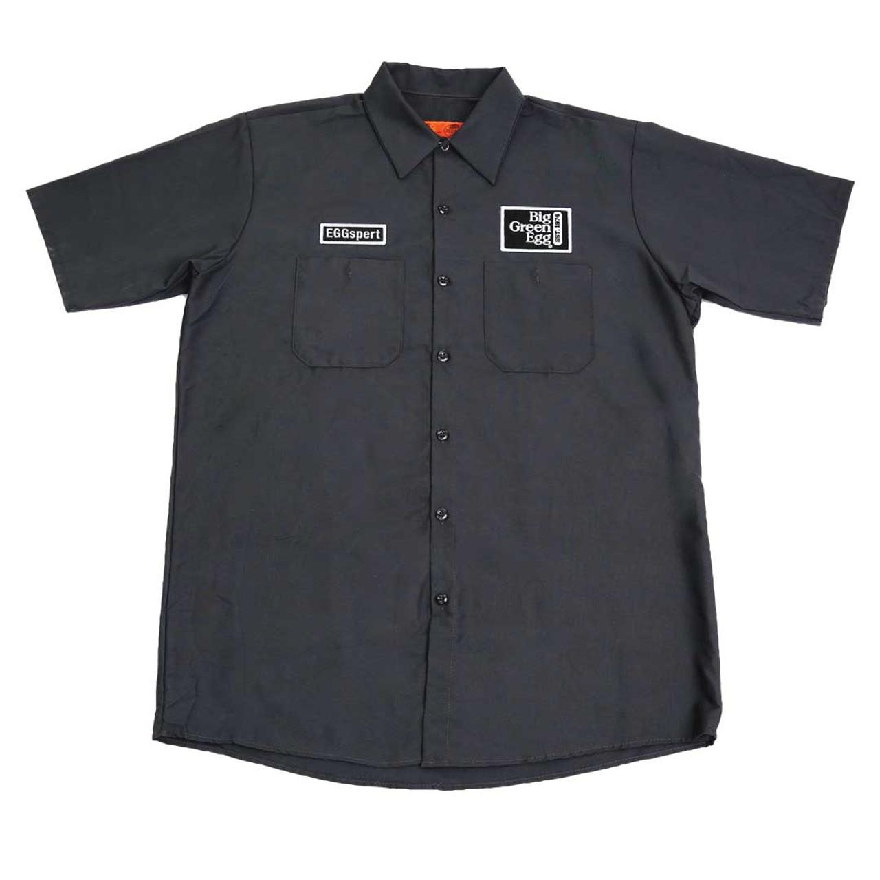 """""""EGGspert"""" Mechanic-Style Shirt"""