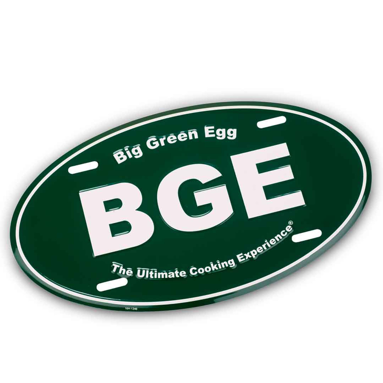 BGE oval sign/front license plate