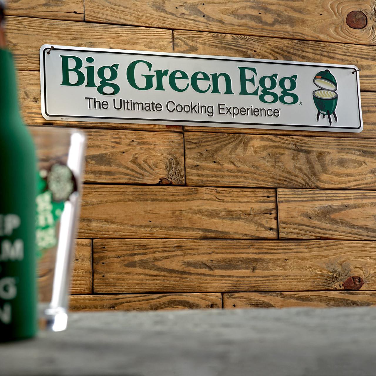 Big Green Egg Street Sign