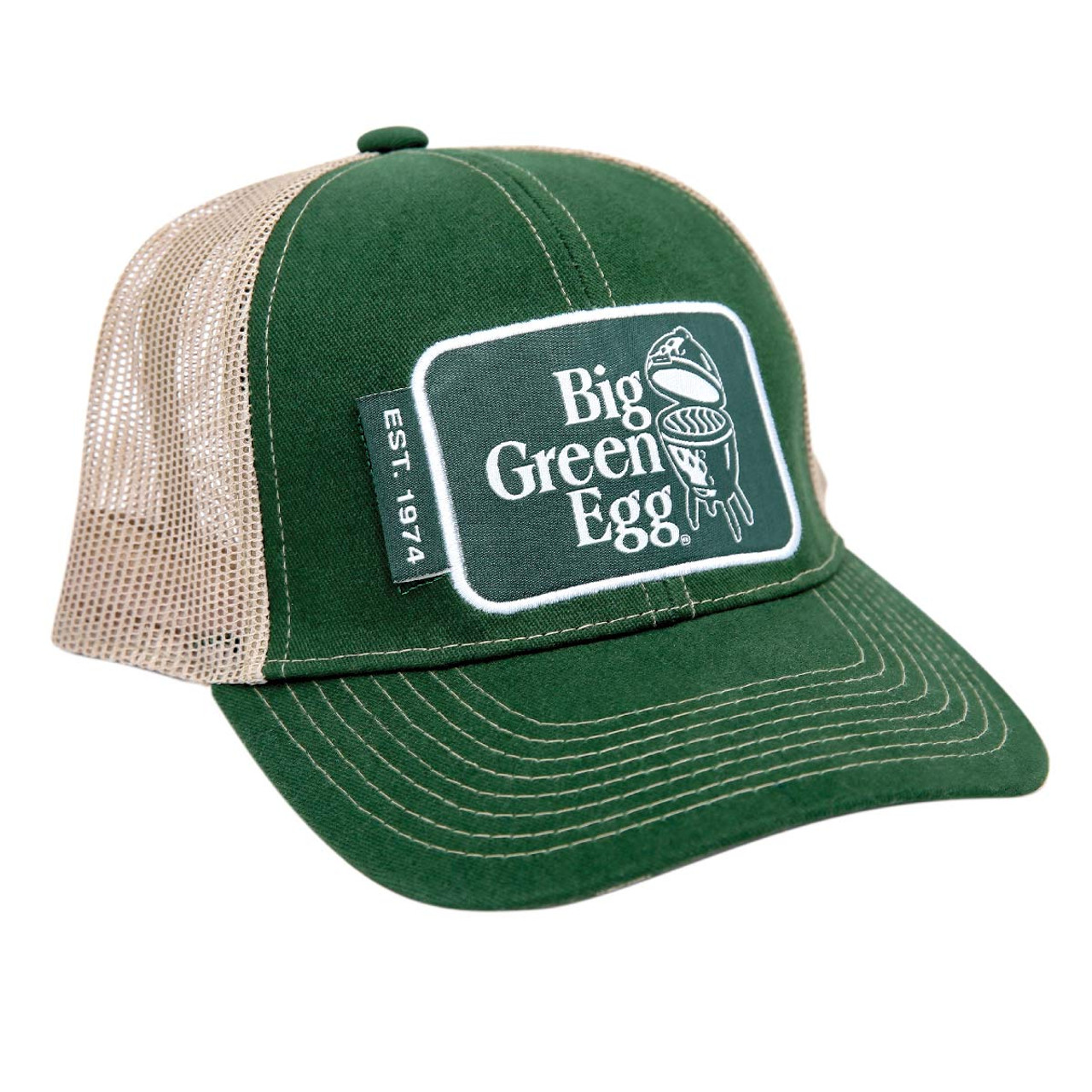 Big Green Egg Patch Hat with Logo