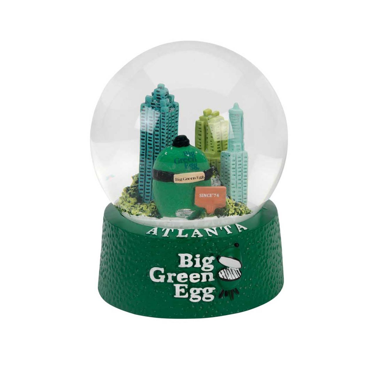 Big Green Egg Snow Globe