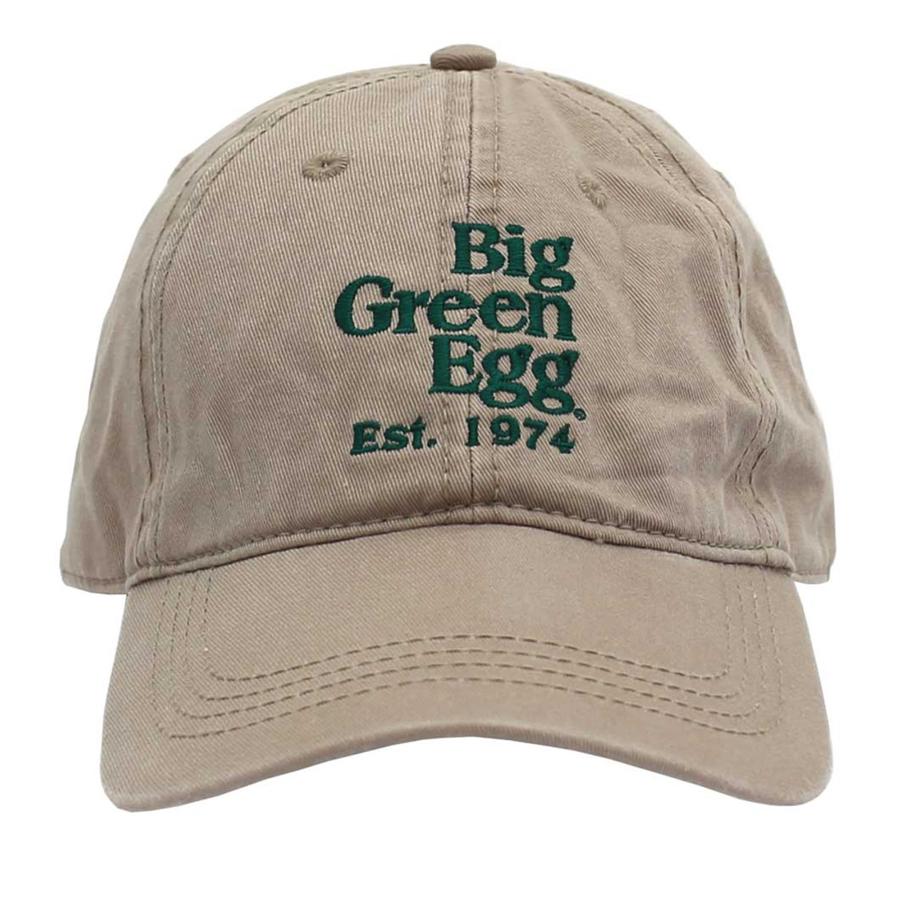 Big Green Egg Relaxed Est. 1974 Cap – Khaki
