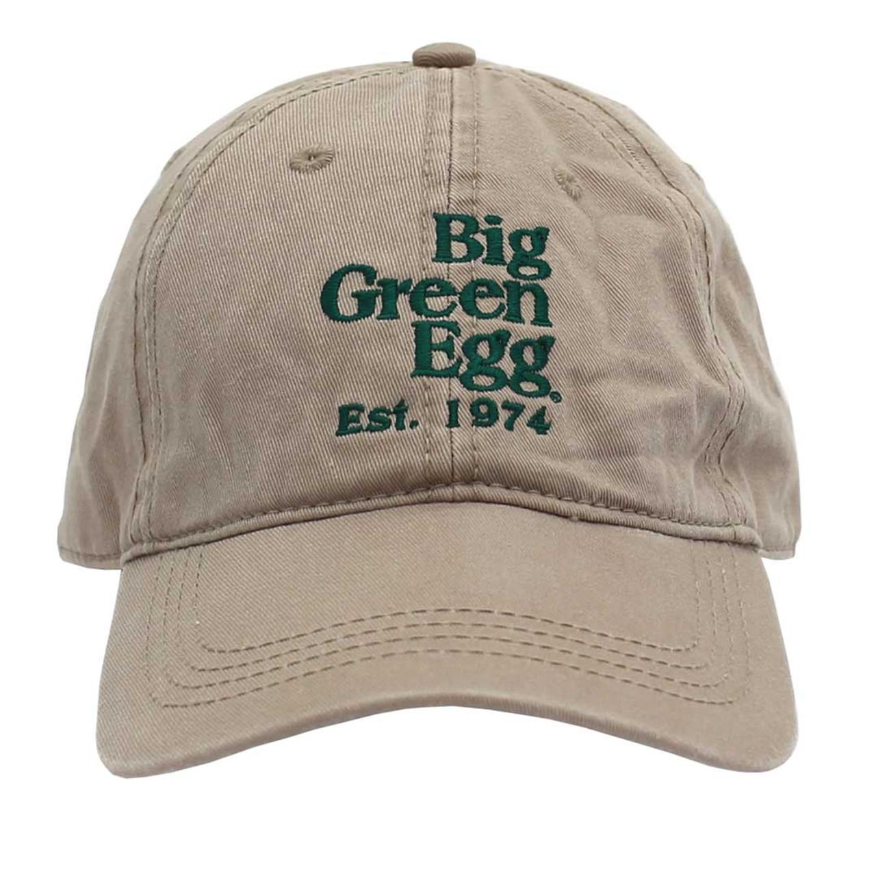 Big Green Egg Relaxed Est. 1974 Cap – Khaki