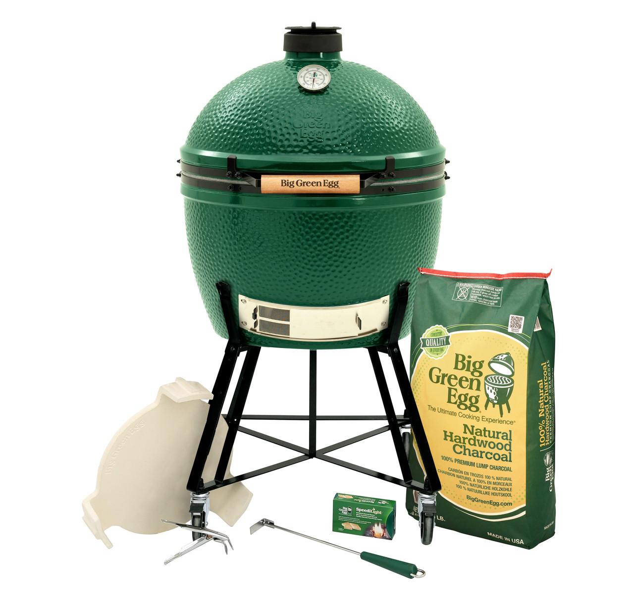 XLarge Big Green Egg in Nest Package