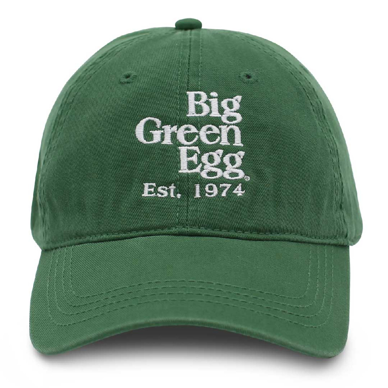 Big Green Egg Relaxed Est. 1974 Cap – Green