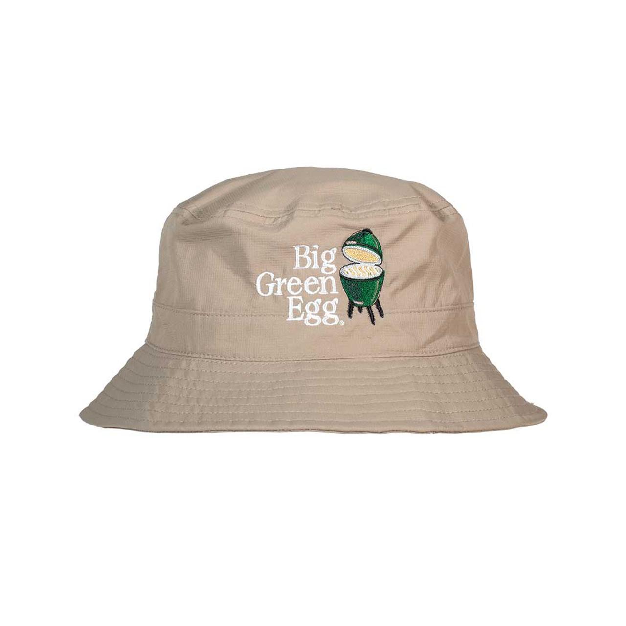 Big Green Egg Bucket Hat – Khaki - front view