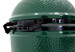 Spring-assisted rear hinge assembly on Xlarge Big Green Egg